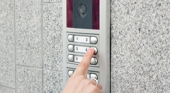 Video-Intercom-Residential-Building